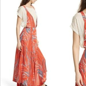 Free People A Thousand Kisses Maxi Dress